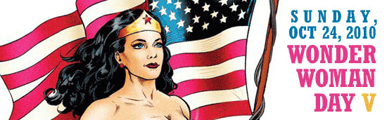 Wonder Woman Day Banner