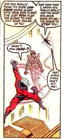 Secret Wars #4 panel