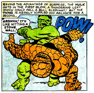 Thing versus Hulk