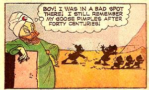 Top Comics Uncle Scrooge #2 panel