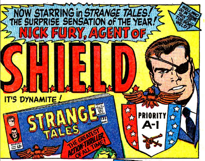 House ad for Strange Tales