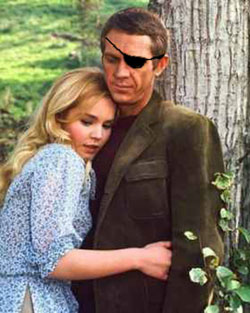 Nick Fury and Tuesday Weld
