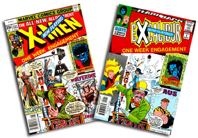 Uncanny X-Men #111 and Excalibur #-1