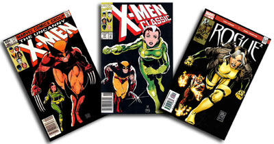 Uncanny X-Men #173, X-Men Classic #77, Rogue #9