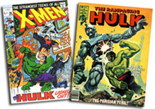 X-Men #66; Rampaging Hulk #2