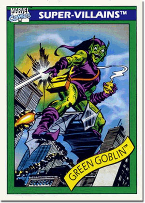 Green Goblin trading card