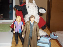 Doctor Who action figures