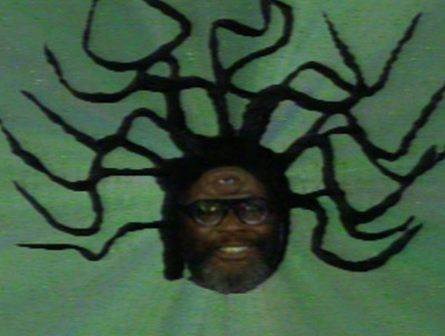 The Floating Head of George Clinton in Cosmic Slop