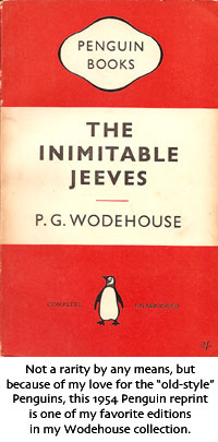 Penguin edition of The Inimitable Jeeves