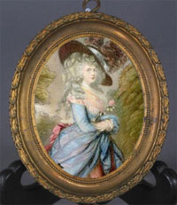 Gainsborough miniature
